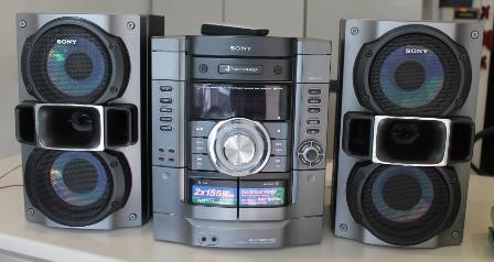 Аудиосистема Sony MHC-RG295 HiFi